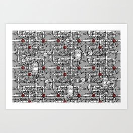 Industrial Decay Art Print