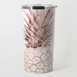 Pineapple Rose Gold Travel Mug