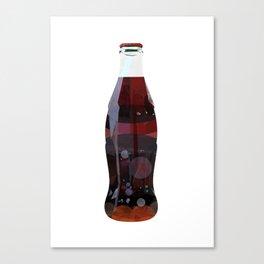 Cola Bottle Canvas Print
