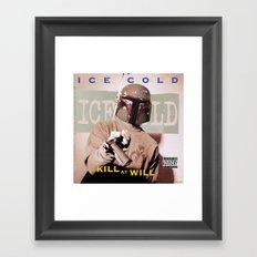 Kill At Will Framed Art Print