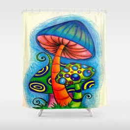 PsychedelicTrip Shower Curtain