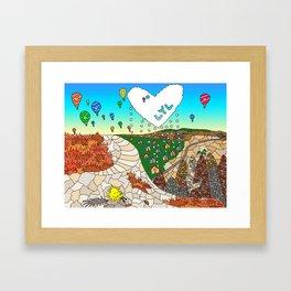 #101: Live Your Legend Framed Art Print