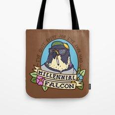 Millennial Falcon Tote Bag
