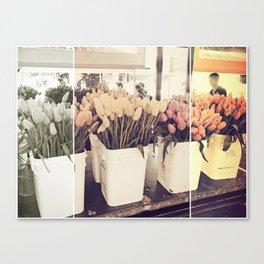 Tulip collage Canvas Print