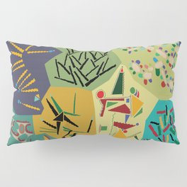 collage play Pillow Sham