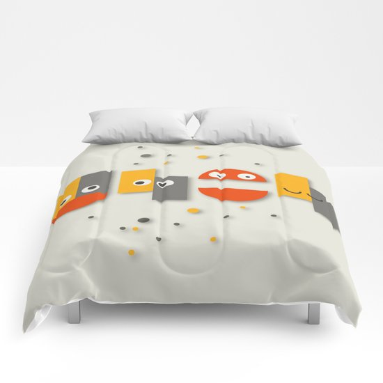 Cute is your uh oh Comforters