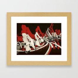 OSSO ROSSO Framed Art Print