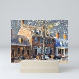 As Winter Melts Into Spring Mini Art Print