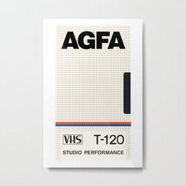 AGFA VHS Metal Print