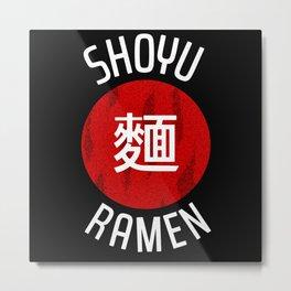 Japanese Ramen Tonkotsu Metal Print