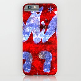 Marilyn You Naughty Girl iPhone Case