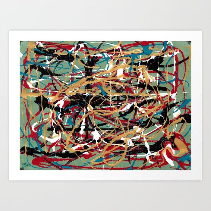 """""""Sloppy Kisses"""" Art Print"""