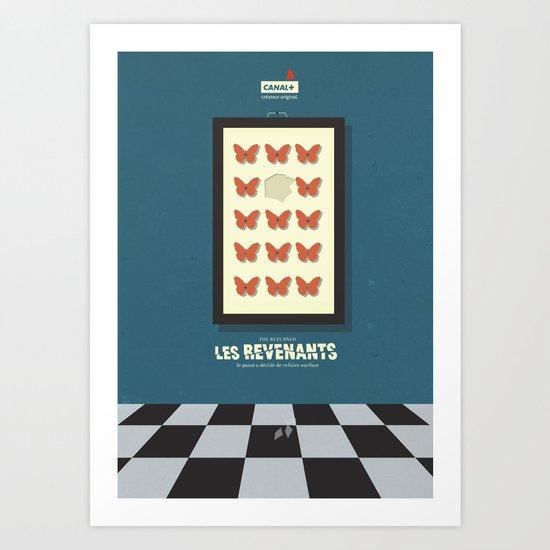Les Revenants - The Returned - Movie Poster Art Print