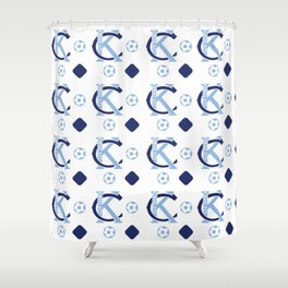 Big Bleu Design Sporting KC Shower Curtain