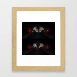 A Candlelit Shift In 3-D Framed Art Print