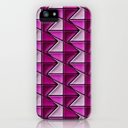 Geometrix 128 iPhone Case