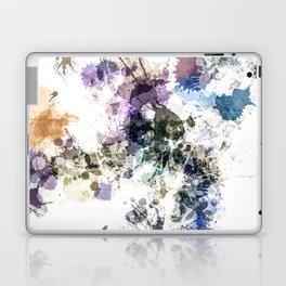 """Oops"" Pastel Paint  Splatter Abstract Laptop & iPad Skin"