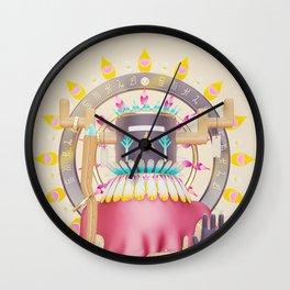 Kachina Solar Eclipse Wall Clock