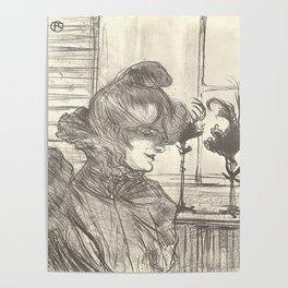 "Henri de Toulouse-Lautrec ""Madame le Margouin"" Poster"