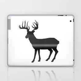 Deer print, Black & White Laptop & iPad Skin
