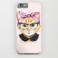 Retro Kitty iPhone 6s Slim Case