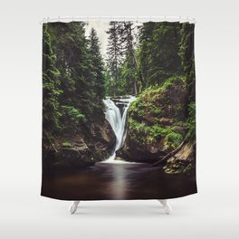 Pure Water - Landscape and Nature Photography Shower Curtain