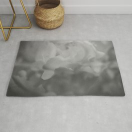 Petals in Abundance - Abstract Floral Photography Rug
