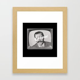 Tele-Vision Framed Art Print