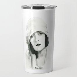 Pola Negri Travel Mug