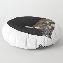 Socially Anxious Raccoon Floor Pillow