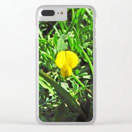 Santa Barbara Flowers 2529 Clear iPhone Case