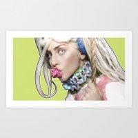 artrave Art Prints featuring ArtRave by Marcelo BM