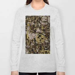 Metal Steampunk Long Sleeve T-shirt
