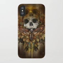 Silence of the Soul iPhone Case