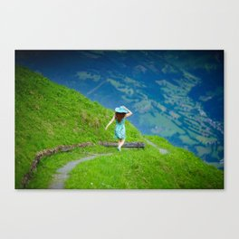 Happy moments in Austria Canvas Print