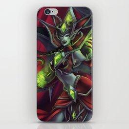 Blood Queen Lana'thel iPhone Skin