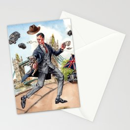 Kingsman x Mr Porter in Jolly England Stationery Cards