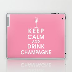 Keep Calm and Drink Champagne Laptop & iPad Skin