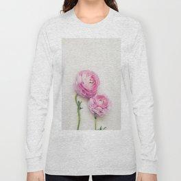 Pink Peonies 2 Long Sleeve T-shirt