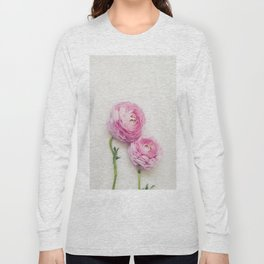 Pink Peonies 2 Long Sleeve T-shirt