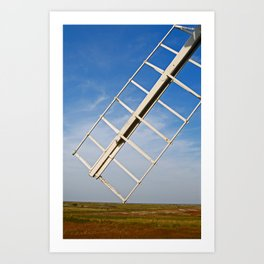 Cley Windmill, UK Art Print