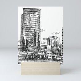 Chicago Riverfront Mini Art Print