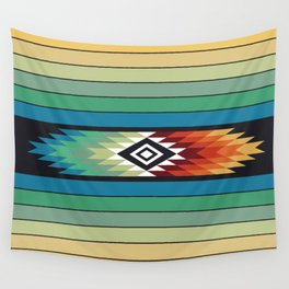 American Native Pattern No. 139 Wall Tapestry