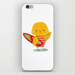 Surf Bird iPhone Skin