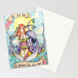A Pirates Life For Me Stationery Cards