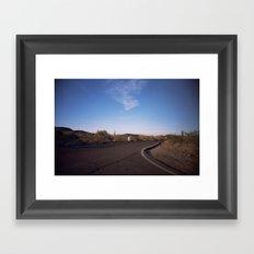 phoenix desert #2 Framed Art Print