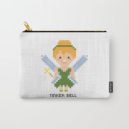Tinker Bell Pixel Character Carry-All Pouch