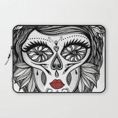 Miss Calavera Laptop Sleeve