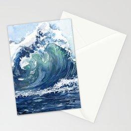 Kai's Wave Stationery Cards