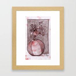 Clown Number 5 (lil' Mayhem) Framed Art Print